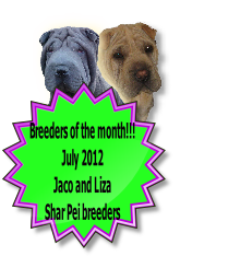 Breeders of the month!!!